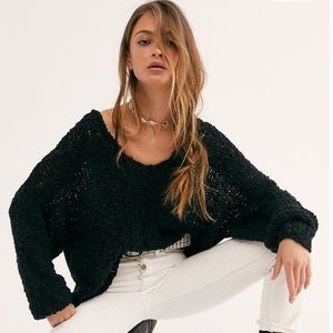 Free People Shade & Shore Oversized Knit Sweater